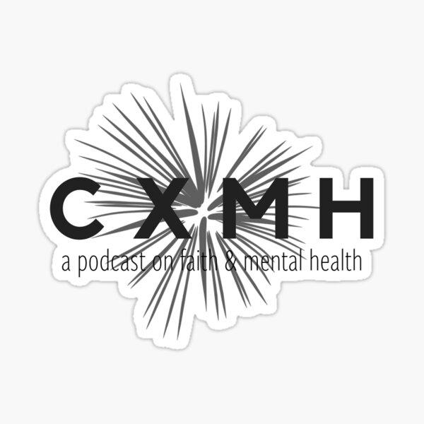 CXMH Logo w/ Tagline Sticker