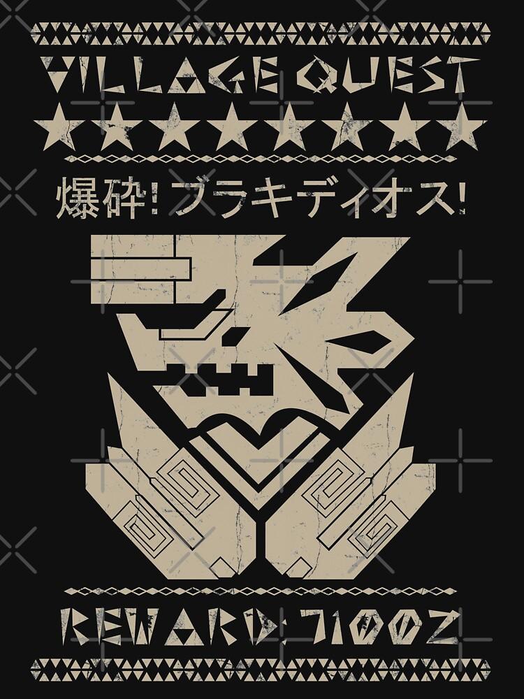 Monster Hunter Required - Brachydios | Unisex T-Shirt