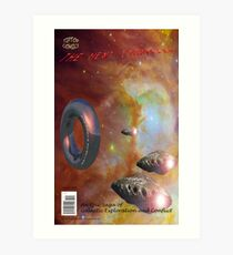 The Next Frontier (Comic Book Cover) Art Print