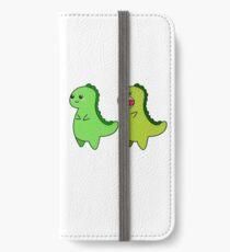 kawaii cute dino t-rex tyrannosaurus rex dinosaur iPhone Wallet/Case/Skin