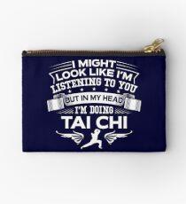In My Head I'm Doing Tai Chi Studio Pouch