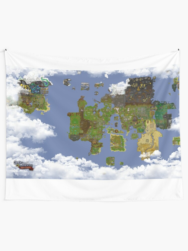 OSRS World map | Tapestry