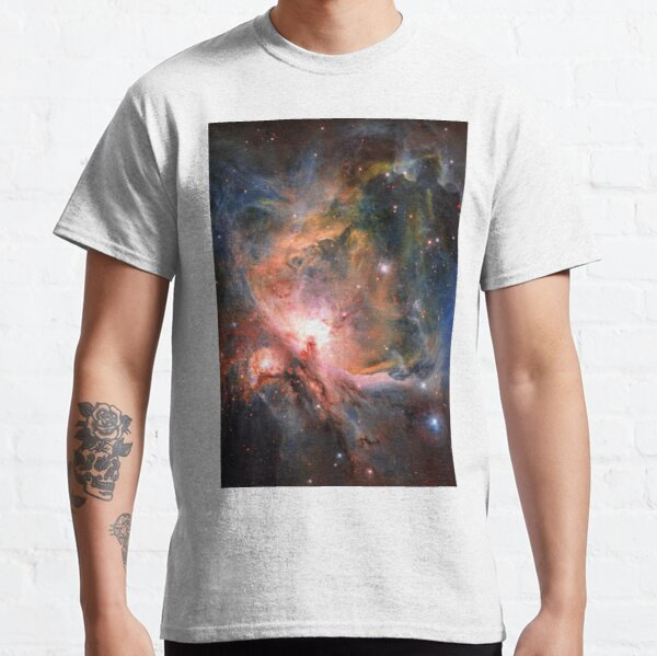 Space, Orion, observations, Survey Telescope, Telescope, astronomers, discovered, populations, young stars Classic T-Shirt