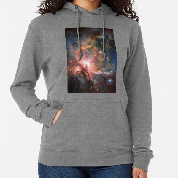 Space, Orion, observations, Survey Telescope, Telescope, astronomers, discovered, populations, young stars Lightweight Hoodie