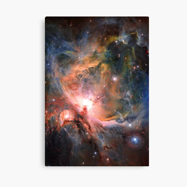 Space, Orion, observations, Survey Telescope, Telescope, astronomers, discovered, populations, young stars Canvas Print