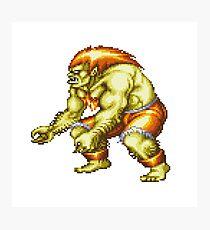 Blanka - Street Fighter Photographic Print