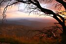 "Sunset view from ""The Horn"" at Mt Buffalo, Australia by Michael Boniwell"