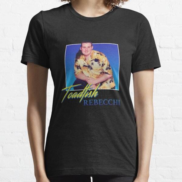 Toadie from Neighbours (Toadfish Rebecchi) - 80s Style Nostalgic Print  Essential T-Shirt