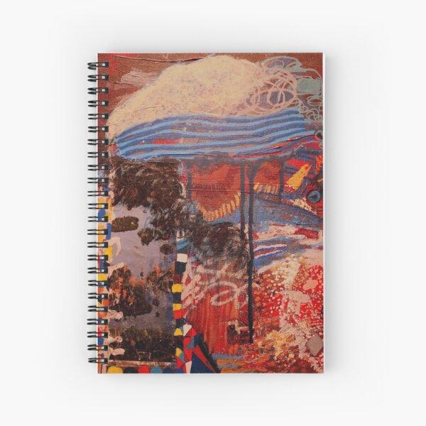 Rainin' On A Pretty Day Spiral Notebook