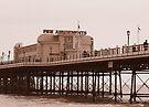Worthing Pier by Sara Sadler