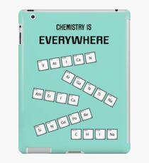 Chemistry Is Everywhere iPad Case/Skin