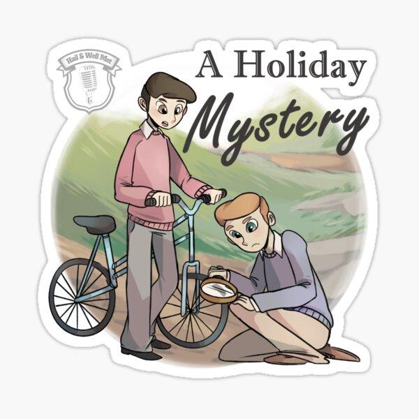 A Holiday Mystery - Logo Sticker