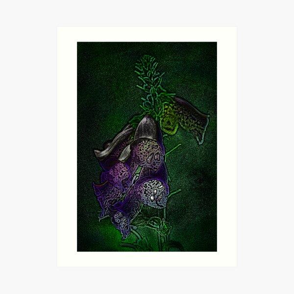 Purple, for you... Art Print