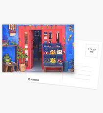 Mexican Storefront Postcards