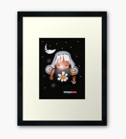 CHUNKIE Tooth Fairy Framed Print