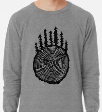 Die Weisheit ist in den Bäumen Leichtes Sweatshirt
