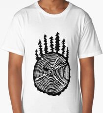 the wisdom is in the trees Long T-Shirt