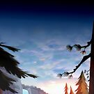 Gravity Falls Forest by Rumdo