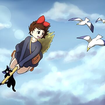 I'm Gonna Fly - Kiki's Delivery Service by littlelead