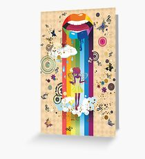 Surreal Fairy Greeting Card