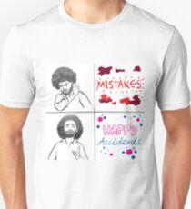 Camiseta unisex Bendecido por Bob Ross