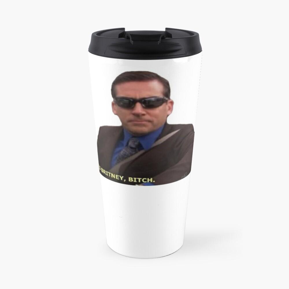 Michael Scott Meme Funny  Travel Mug