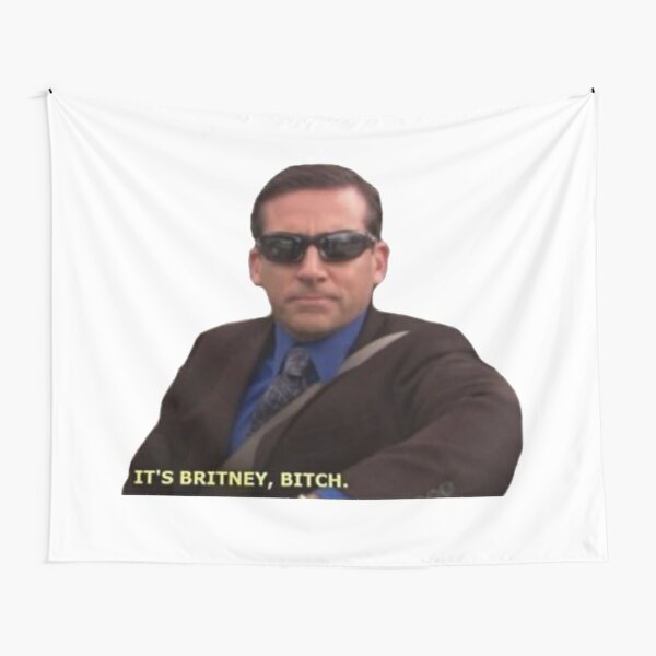 Michael Scott Meme Funny  Tapestry