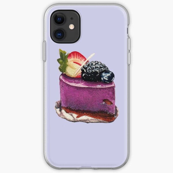 Berry Mousse iPhone Soft Case
