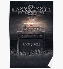 Rock & Roll to My Grave Poster Poster