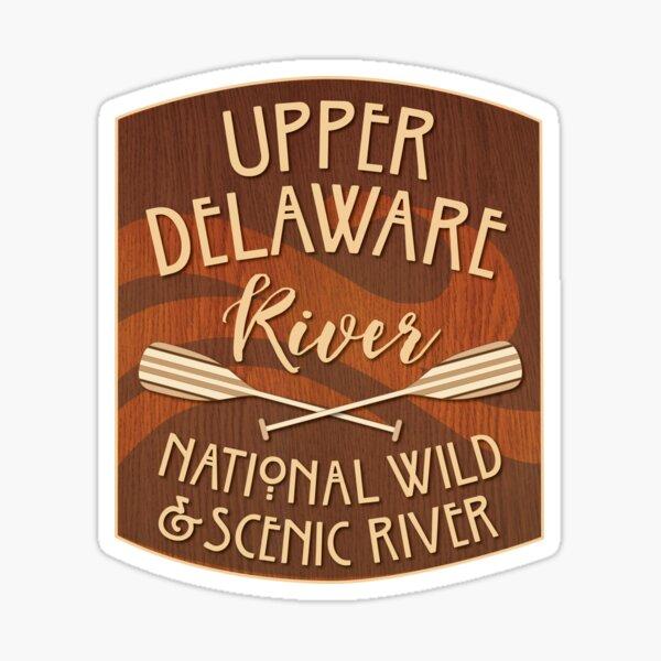 Upper Delaware River, National Wild and Scenic River Sticker