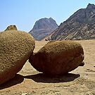 Granite boulders at Spitkoppe Namibia by Grubhead