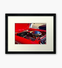 series l Framed Print