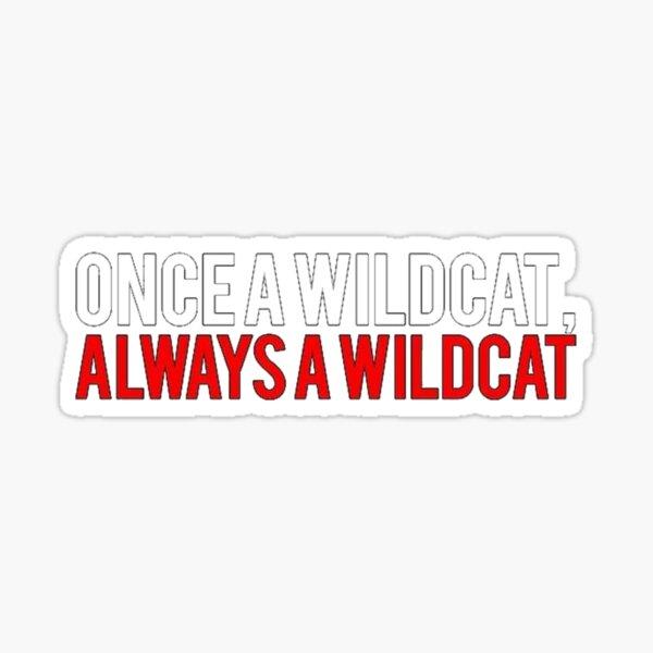 Une fois un lycée Wildcat Sticker