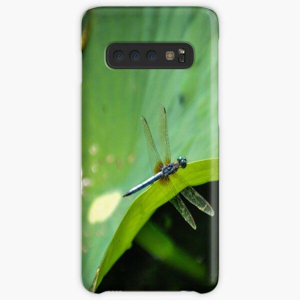 Dragonfly on Lilypad Samsung Galaxy Snap Case