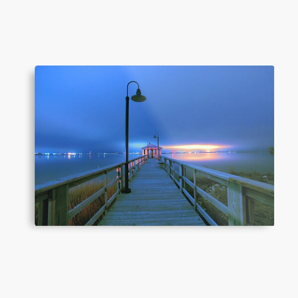 blue nights Metal Print