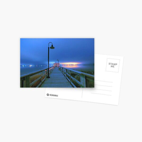 blue nights Postcard