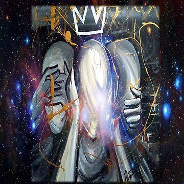 See no evil, hear no evil, speak no evil - Kingly Behavior (Reloaded) by artbyamw