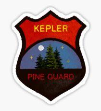 Pegatina Insignia de Guardia de pino