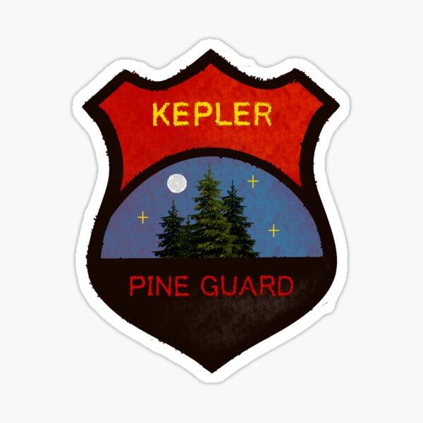 Pine Guard Badge  Sticker