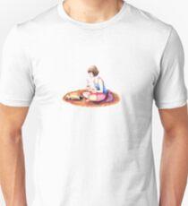 Hot Tea With Cat Unisex T-Shirt