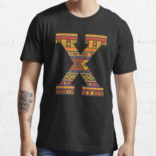 Malcolm X, Black History Month, African Print Essential T-Shirt