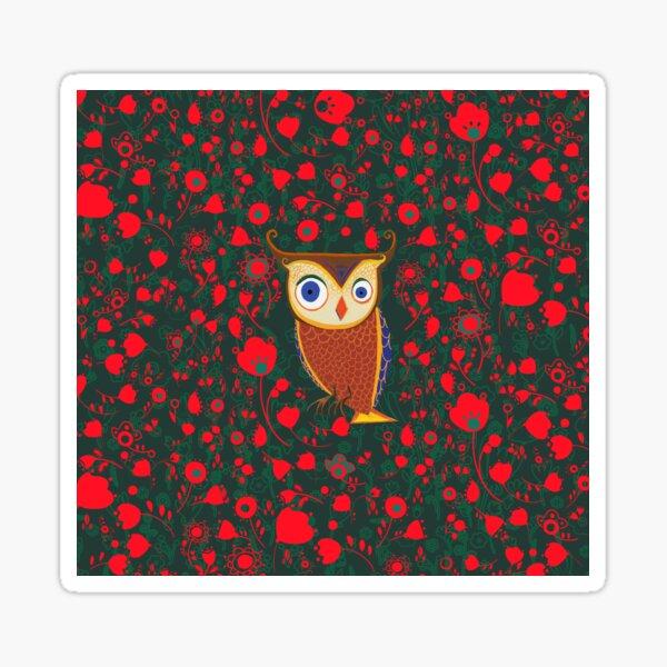 Forest Owl Sticker