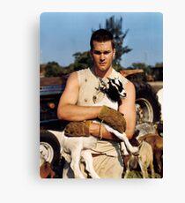 Tom Brady The Goat (High Definition) Canvas Print