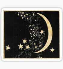 The Stars and The Moon Sticker