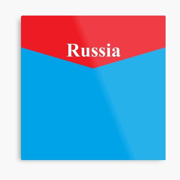 Russia, #Russia, Russian Federation, #RussianFederation, Российская Федерация, #РоссийскаяФедерация, Россия, #Россия Metal Print