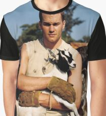 Tom Brady The Goat (High Definition) Graphic T-Shirt