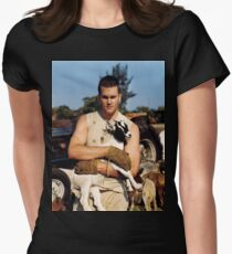 Tom Brady The Goat (High Definition) Women's Fitted T-Shirt