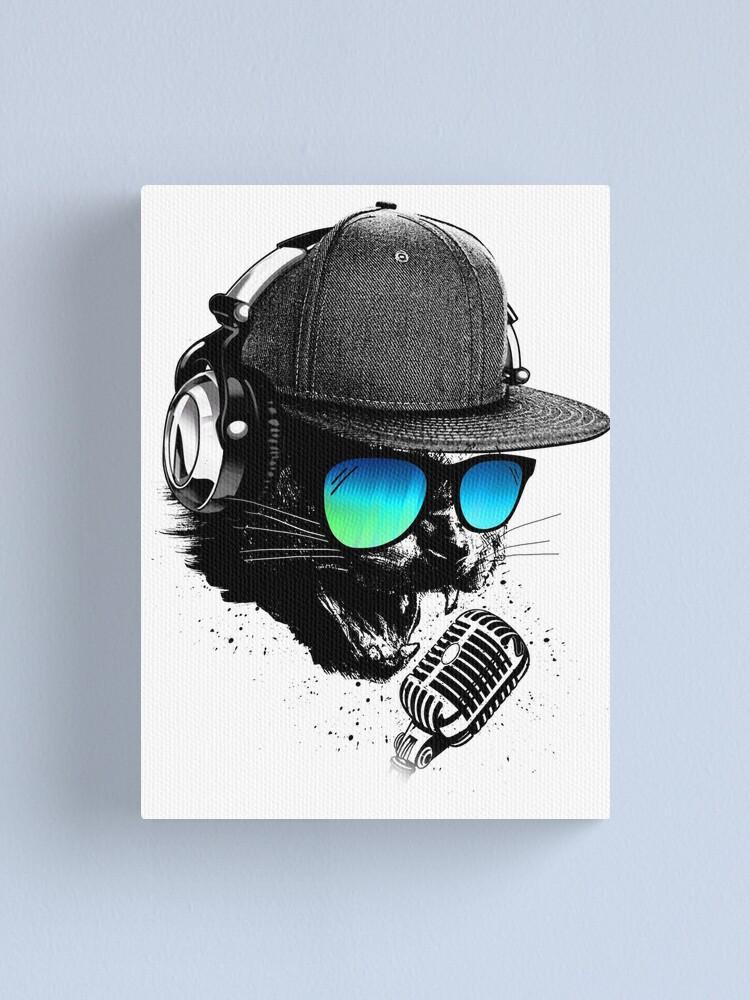 Alternate view of Rocker Cat Canvas Print