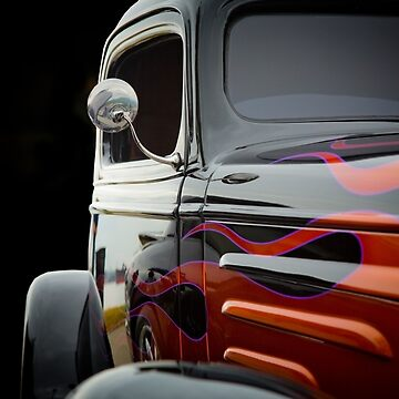 Flaming Hot Rod - © Photography by The Clayman / Paul Moldovanos by theclayman