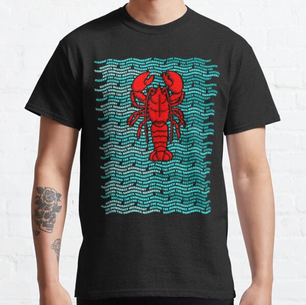 Ascend the Lobster Hierarchy Jordan B Peterson Classic T-Shirt